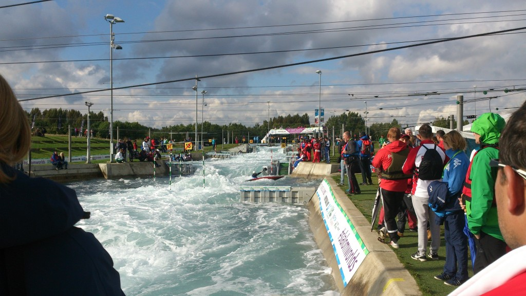 VM kanotslalom London 2015