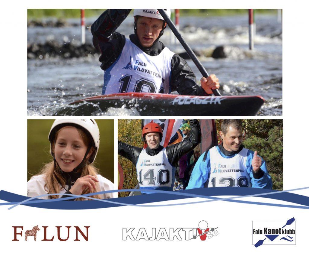 SM kanotslalom 2016 Falun